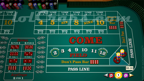 How To Win At Craps Table