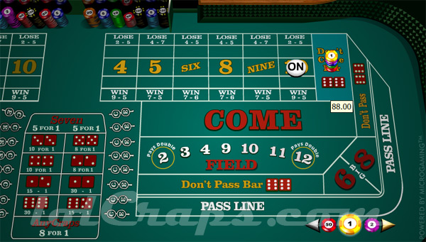 How does the come bet work in craps casino saint gilles poker