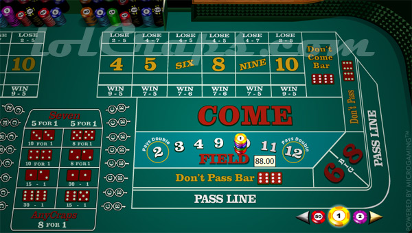 Odds of winning field bet in craps restaurant casino mondorf les bains