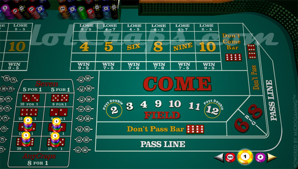 Craps tournament 2017